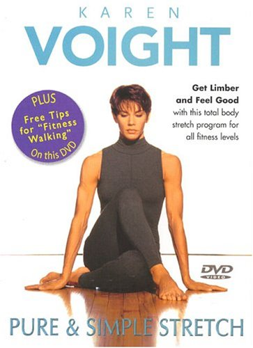 Karen Voight: Pure & Simple Stretch DVD Image