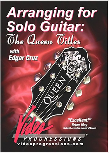 Arranging For Solo Guitar: The Queen Titles DVD Image