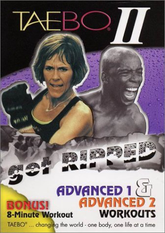 Tae-Bo 2: Get Ripped: Advanced (2-Pack) DVD Image