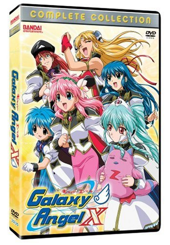 Galaxy Angel X: Complete Collection DVD Image