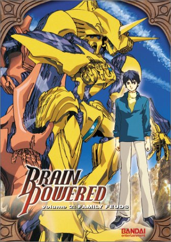 Brain Powered #2: Family Feuds DVD Image