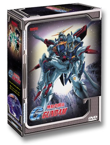 Mobile Fighter G Gundam: Collector's Box #2 DVD Image