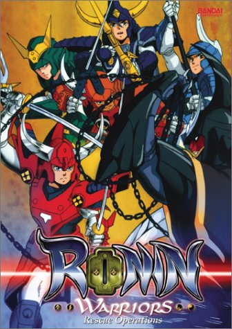 Ronin Warriors #02: Rescue Operations DVD Image