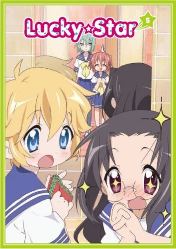 Lucky Star #5 (Limited Special Edition/ DVD/CD Combo w/ T-Shirt) DVD Image