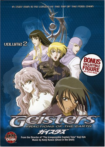 Geisters #2: Fractions Of The Earth DVD Image