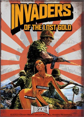 Invaders Of The Lost Gold DVD Image