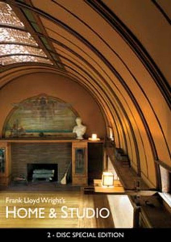 Frank Lloyd Wright's Home & Studio (w/ Interactive DVD-ROM) DVD Image