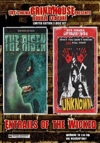 Grindhouse Double Feature (Sub Rosa Studios): Entrails Of The Wicked: The Risen / The Unknown DVD Image