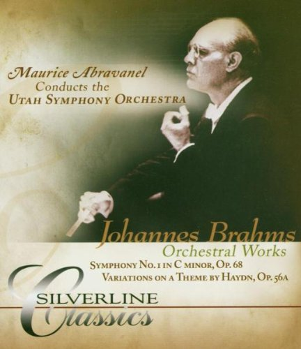 Brahms: Orchestral Works: Utah Symphony Orchestra (Audio-Only DVD) DVD Image