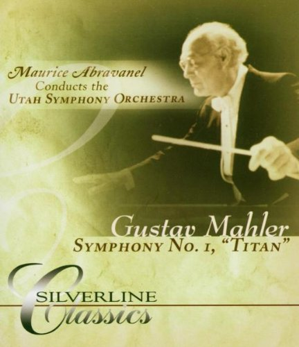 Mahler: No 1, 'Titan': Utah Symphony Orchestra (Audio-Only DVD) DVD Image