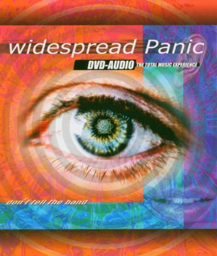 Widespread Panic: Don't Tell The Band (Audio-Only DVD) DVD Image