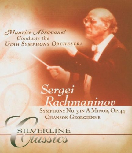 Rachmaninov: Symphony No 3 In A Minor, Op. 44 And Chanson Georgienne: Utah Symphony Orchestra (Audio-Only DVD) DVD Image