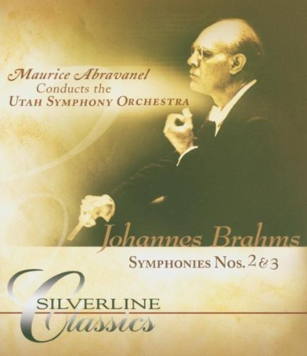 Brahms: Symphonies No 2 & 3: Utah Symphony Orchestra (Audio-Only DVD) DVD Image