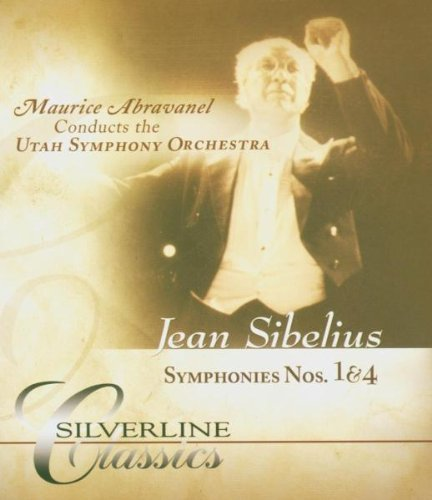 Sibelius: Symphonies No 1 & 4: Utah Symphony Orchestra (Audio-Only DVD) DVD Image