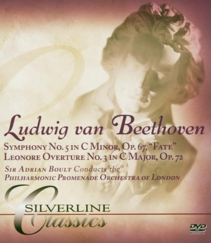 Beethoven: Symphony No. 5: Philharmonic Orchestra Of London (Audio-Only DVD) DVD Image