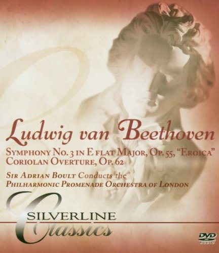 Beethoven: Symphony No. 3: Philharmonic Orchestra Of London (Audio-Only DVD) DVD Image