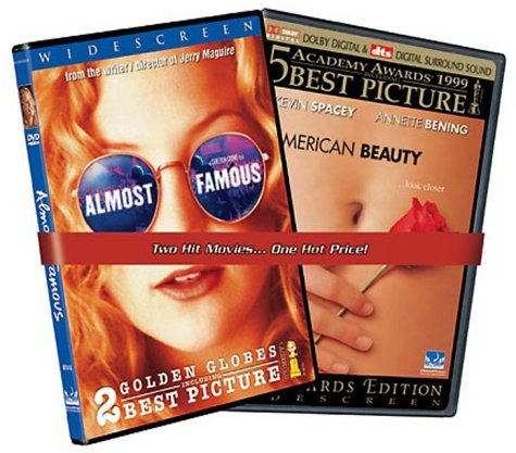 Almost Famous / American Beauty DVD Image