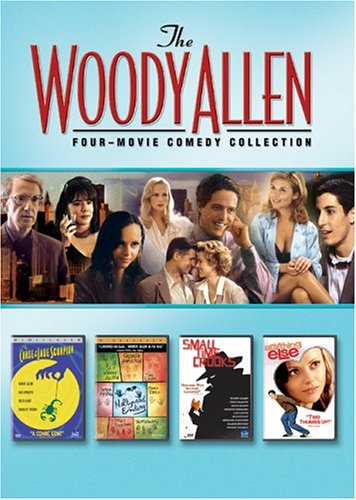 Woody Allen Four Movie Collection: Anything Else / Curse Of The Jade Scorpion / Hollywood Ending / Small Time Crooks DVD Image
