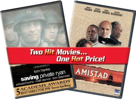 Saving Private Ryan / Amistad (Value Pack/ Back-To-Back) DVD Image
