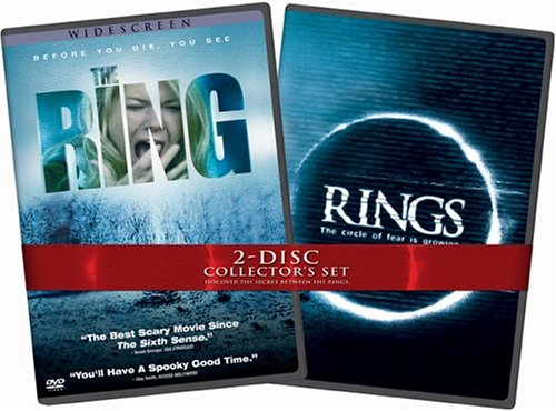 Ring (2002/ Widescreen) / Rings: The Circle Of Fear Is Growing (Collector's Set/ Back-To-Back) DVD Image