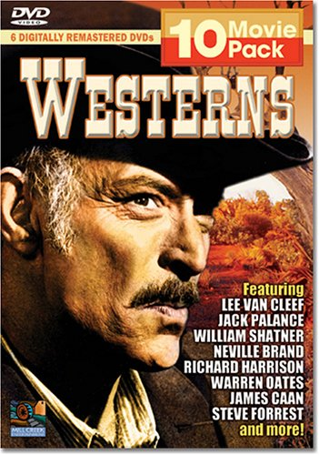 Westerns 10 Movie Pack (3- Disc): The Hanged Man / It Can Be Done Amigo / The Grand Duel / Mohawk / China 9 Liberty 37 / ... DVD Image