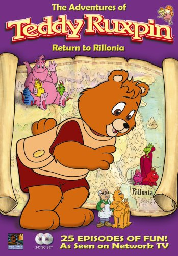 Teddy Ruxpin Adventures: Return To Rillonia DVD Image
