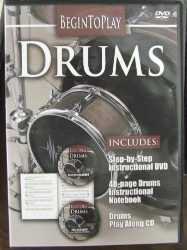 Begin To Play Drums DVD Image