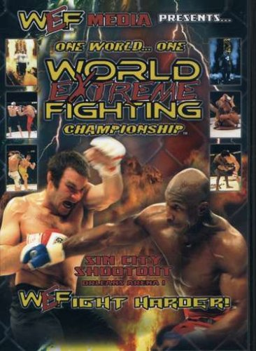 World Extreme Fighting (Plus Entertainment), Vol. 1: Sin City Shootout DVD Image