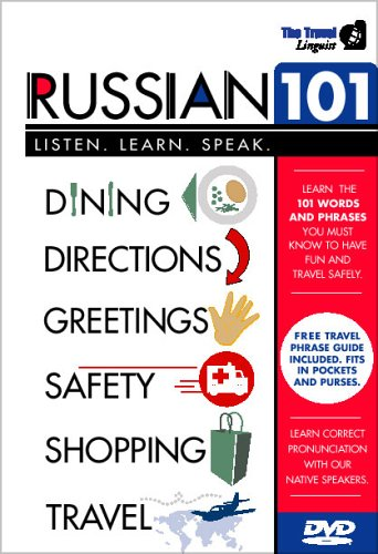Russian 101: Learn To Speak Russian With The Travel Linguist DVD Image