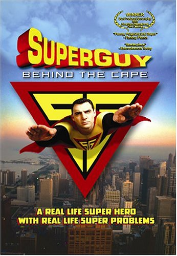 Superguy: Behind The Cape DVD Image