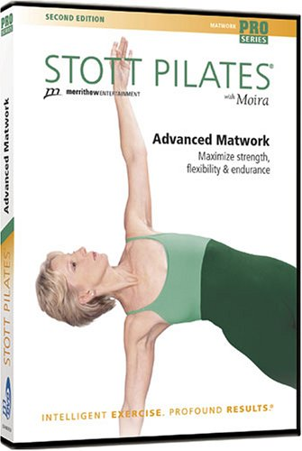 Stott Pilates: Advanced Matwork 2nd Ed. DVD Image