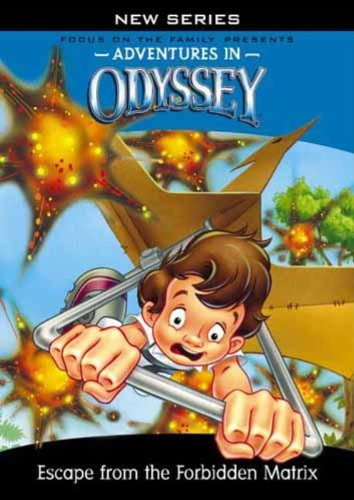 Adventures In Odyssey #2: Escape From The Forbidden Matrix DVD Image