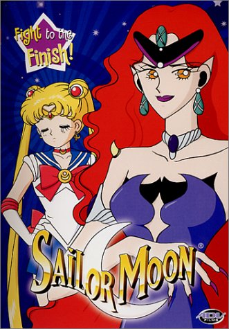 Sailor Moon #07: Fight To The Finish DVD Image