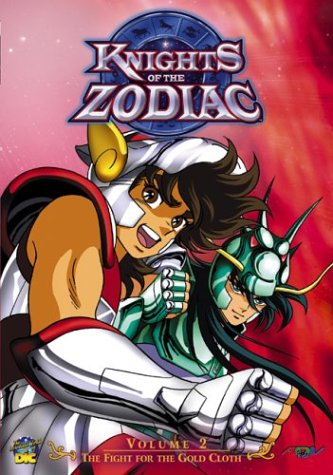 Knights Of The Zodiac #2: The Fight For The Gold Cloth DVD Image