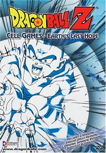 Dragon Ball Z #53: Cell Games: Earth's Last Hope (Uncut) DVD Image