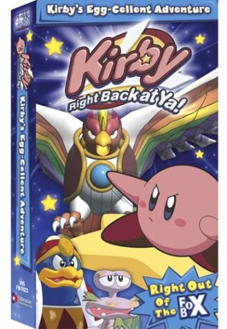Kirby: Kirby's Egg-Cellent Adventure DVD Image