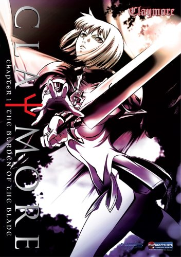 Claymore #1: The Burden Of The Blade DVD Image