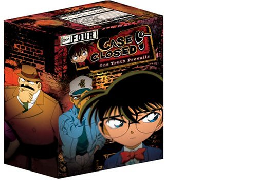 Case Closed: Case 1 #1: The Secret Life Of Jimmy Kudo: Starter Set (Uncut/ Limited Edition w/ Collector's Box) DVD Image