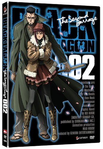 Black Lagoon (FUNimation): The Second Barrage #2 DVD Image