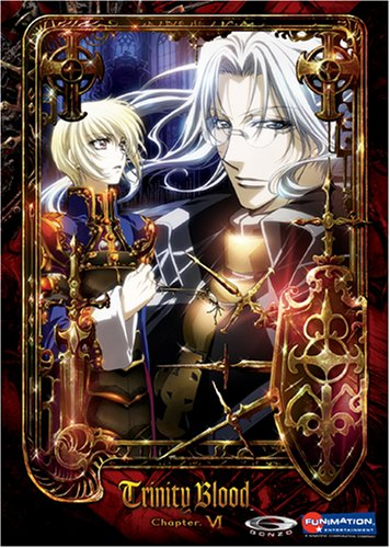 Trinity Blood #6 (Limited Edtion/ w/ Booklet & 4 Tarot Cards) DVD Image