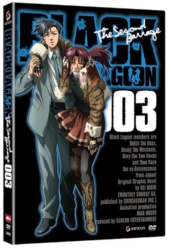 Black Lagoon (FUNimation): The Second Barrage #3 DVD Image