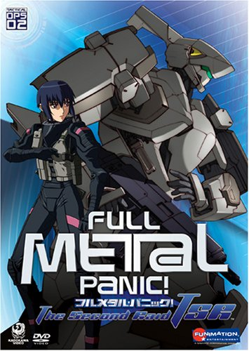 Full Metal Panic!: The Second Raid: Tactical Ops 02 DVD Image