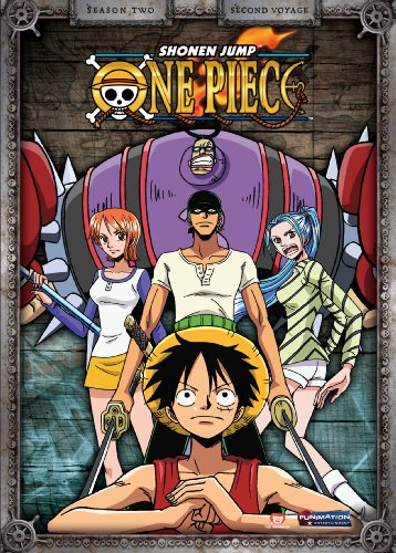 One Piece (FUNimation): Season 2, Part 2: Second Voyage DVD Image
