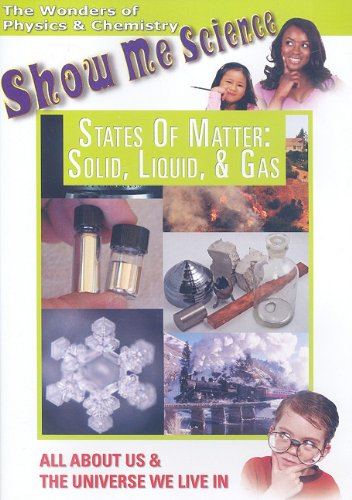 States Of Matter: Solid Liquid & Gas DVD Image