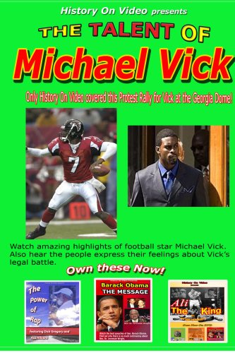 Talent Of Michael Vick DVD Image