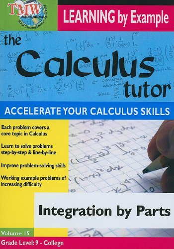 Calculus Tutor: Integration By Parts DVD Image