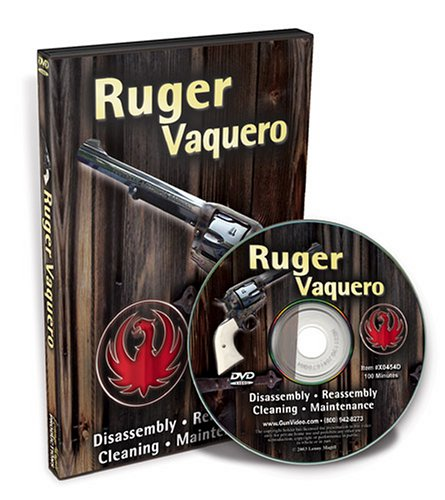 Complete Ruger Vaquero With Larry Crow DVD Image