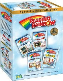 Reading Rainbow Favorites: Let's Go! / How's That Made? / Birds Of A Feather / Desert Life (Alternate UPC) DVD Image