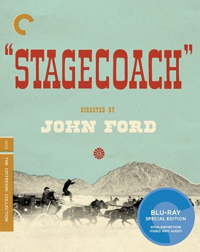 Stagecoach (The Criterion Collection) [Blu-ray] DVD Image