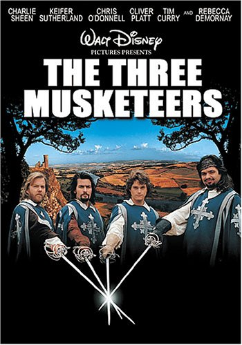 Three Musketeers (1993) DVD Image